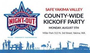 SAFE Yakima Valley: County Wide Kickoff Party @ Miller Park